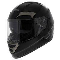 LS2 FF375 helm Combat Mono glans zwart