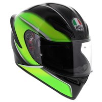 AGV K1 Qualify Zwart Lime