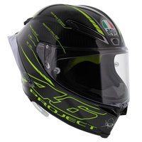 AGV Pista GP R Project 46 3.0 - Glans Zwart Carbon