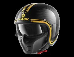 Shark S-Drak Vinta carbon geel