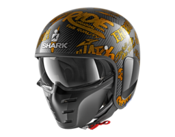 Shark S-Drak Carbon Freestyle Cup geel