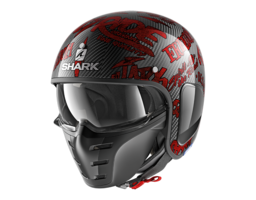 Shark S-Drak Carbon Freestyle Cup rood