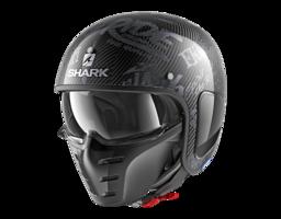 Shark S-Drak Carbon Freestyle Cup antraciet