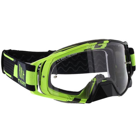 MT MX Performance Crossbril geel zwart