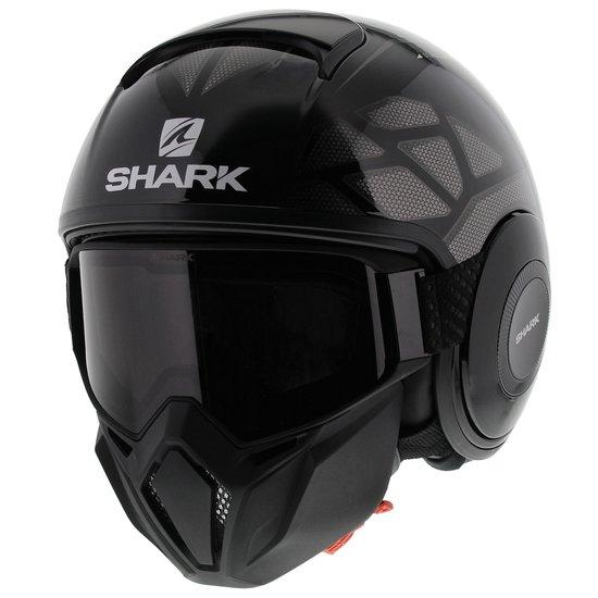 Shark Street Drak Hurok Zwart Zilver