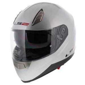 LS2 FF384 Blade helm glans zilver