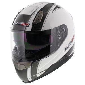 LS2 FF384 helm Esprit glans wit