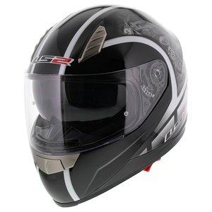 LS2 FF384 helm Dream glans zwart