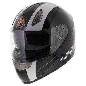 LS2 FF384 helm Last Lap glans zwart