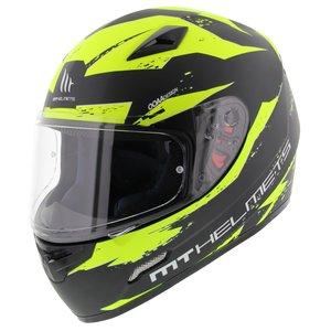 MT Mugello helm Vapor zwart fluor geel