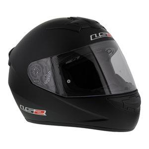LS2 Integraalhelm FF352 Rookie Single mono mat zwart