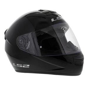 LS2 FF352 Single Mono glans zwart
