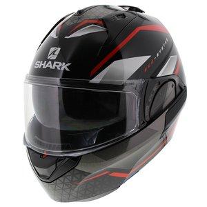 Shark EVO ES Yari zwart rood wit