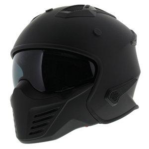 Vito Jet Bruzano helm mat zwart
