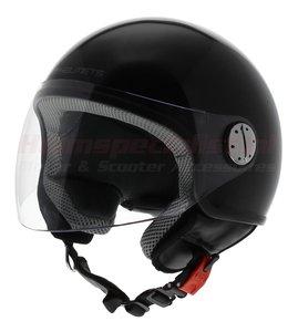 MT Zyclo helm glans zwart