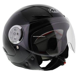 MT kinder jet helm Urban zwart