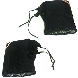 Handmoffen set Nylon zwart