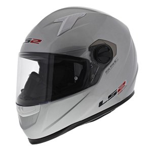 LS2 FF358 Concept Motorhelm glans zilver