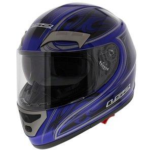 LS2 FF375 helm Shogun glans blauw