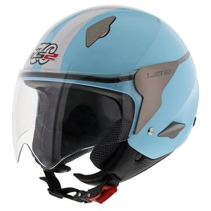 LS2 OF559 Rocket Fashion glans Aqua Blauw