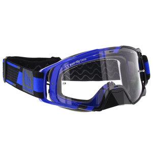 MT MX Performance Crossbril blauw zwart