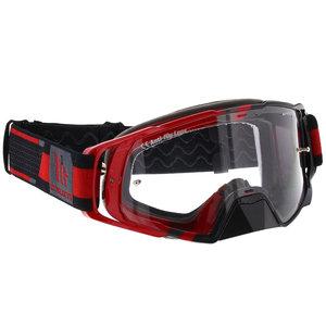 MT MX Performance Crossbril rood zwart
