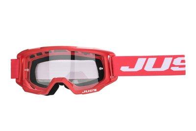 Just1 Crossbril Vitro rood wit