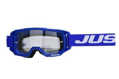 Just1 Crossbril Vitro blauw wit