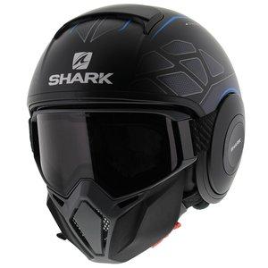 Shark Street Drak Hurok Mat Zwart Blauw