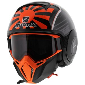 Shark Street Drak Zarco Malaysia GP Mat Zwart Oranje