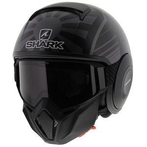 Shark Street Drak Zarco Malaysia GP Mat Zwart Antraciet