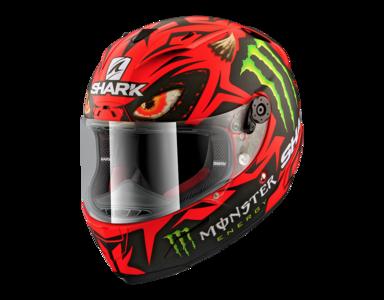 Shark Race-R Pro Lorenzo Diablo Austrian GP mat rood