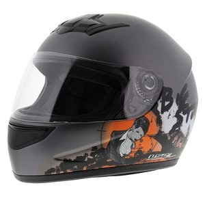 LS2 FF350 Helm Big Stuff mat antraciet