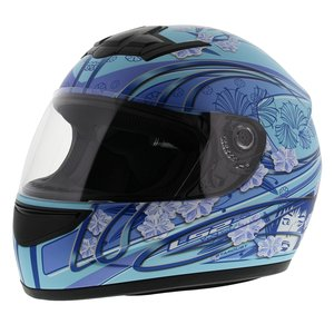 LS2 FF350 Helm Stardust mat blauw