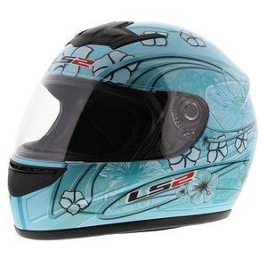 LS2 FF350 Helm Stardust 2 glans blauw