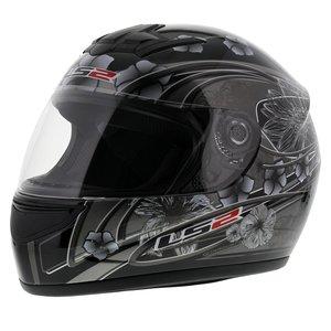 LS2 FF350 Helm Stardust 2 glans zwart