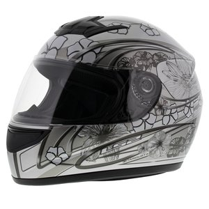 LS2 FF350 Helm Stardust 2 glans zilver